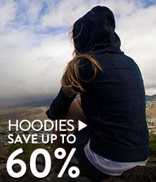 Hoodies - save up to 60%