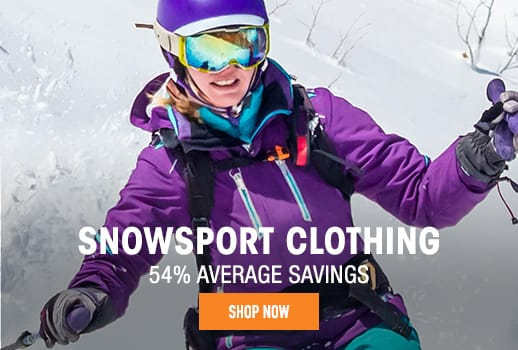 Snow Sport Clothing - 54% average savings
