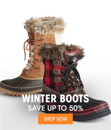 Women's Winter Boots - Save up tp 55%