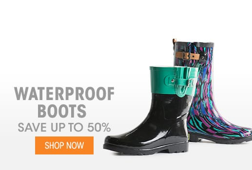 Waterproof Boots - Save up to 50%
