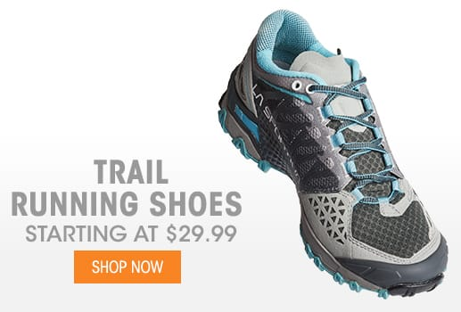 Trail Running Shoes - Starting @ $29.99