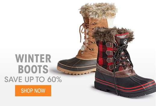 Winter Boots - Save up to 60%
