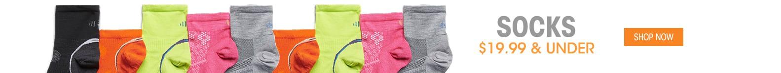 Socks - $19.99 & Under