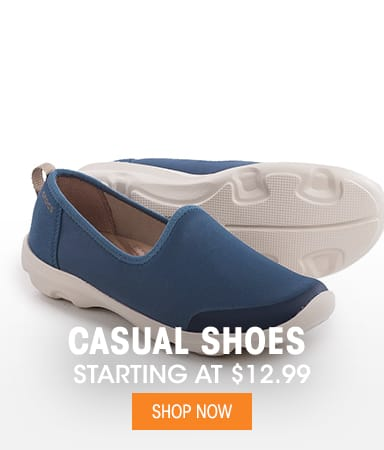 Casual Shoes - Starting at $12.99