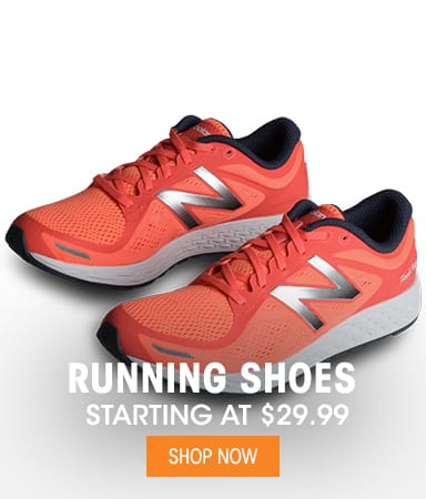 Running Shoes - Starting at $29.99
