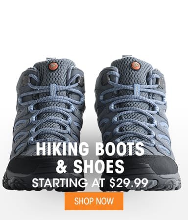 Hiking Shoes & Boots - Starting at $29.99