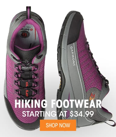 Hiking Footwear - Starting at $34.99