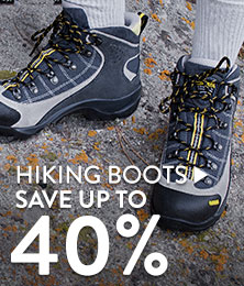 Hiking Boots - save up to 40%