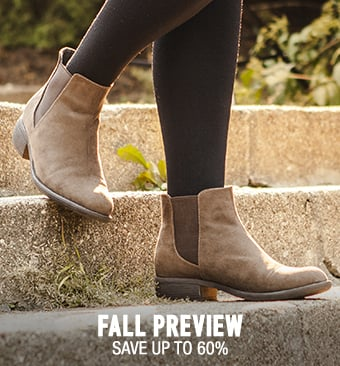 Fall Preview - save up to 60%