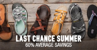 Last Chance Summer - 50% average savings