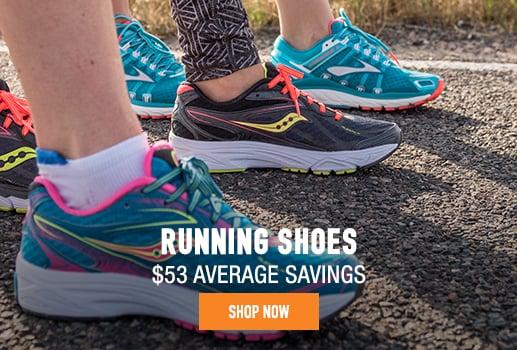 Running Shoes - $53 average savings