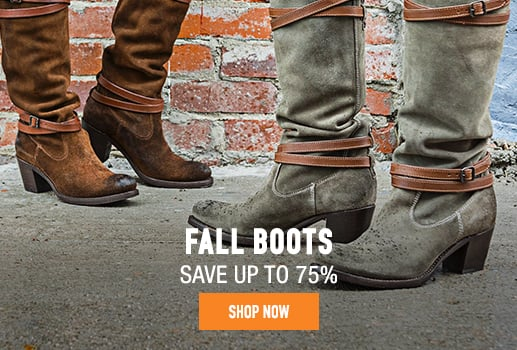 Fall Boots - save up to 75%