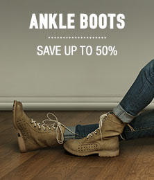Ankle Boots - save up to 50%