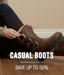 Casual Boots - save up to 50%