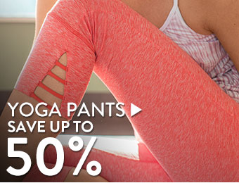 Yoga Pants - save up to 50%