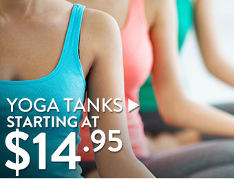 Yoga Tanks - starting at $14.95