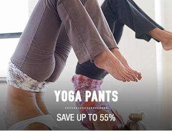 Yoga Pants - save up to 55%