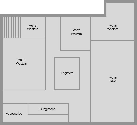 Cody Wy Instore Layout We Are All Explorers