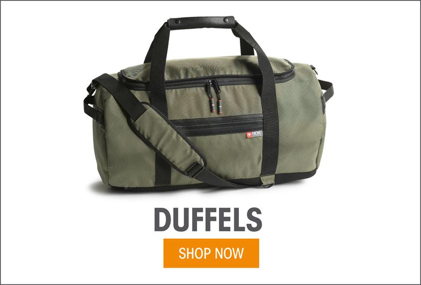 Duffels - Shop Now