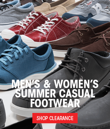 Men's & Women's Summer Casual Footwear - Shop Clearance