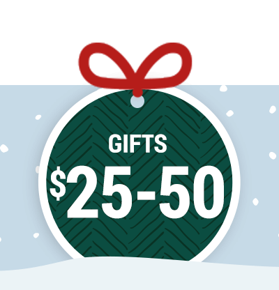 Gifts $25-50