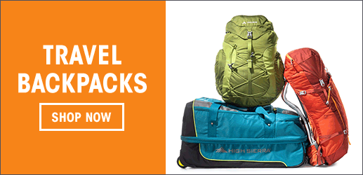 Travel Backpacks - Shop Now